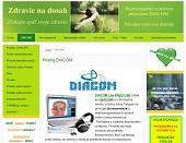 Diagnostický prístoj Diacom