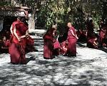 File:Monks debating, Sera monastery in Tibet, 2013.jpg