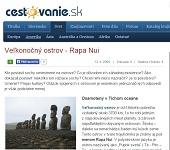 Veľkonočný ostrov - Rapa Nui