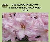 Dni rododendronov v Arboréte Borová hora