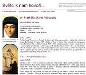 Margarita Maria Alacoque